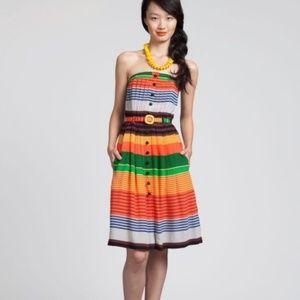 Plenty By Tracy Reese Striped Silk Dress